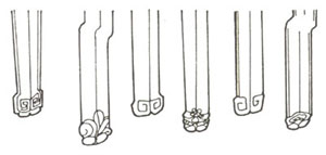 明式苏作家具几种常见的椅子脚 - csmyhm - 明艺红木  传承经典